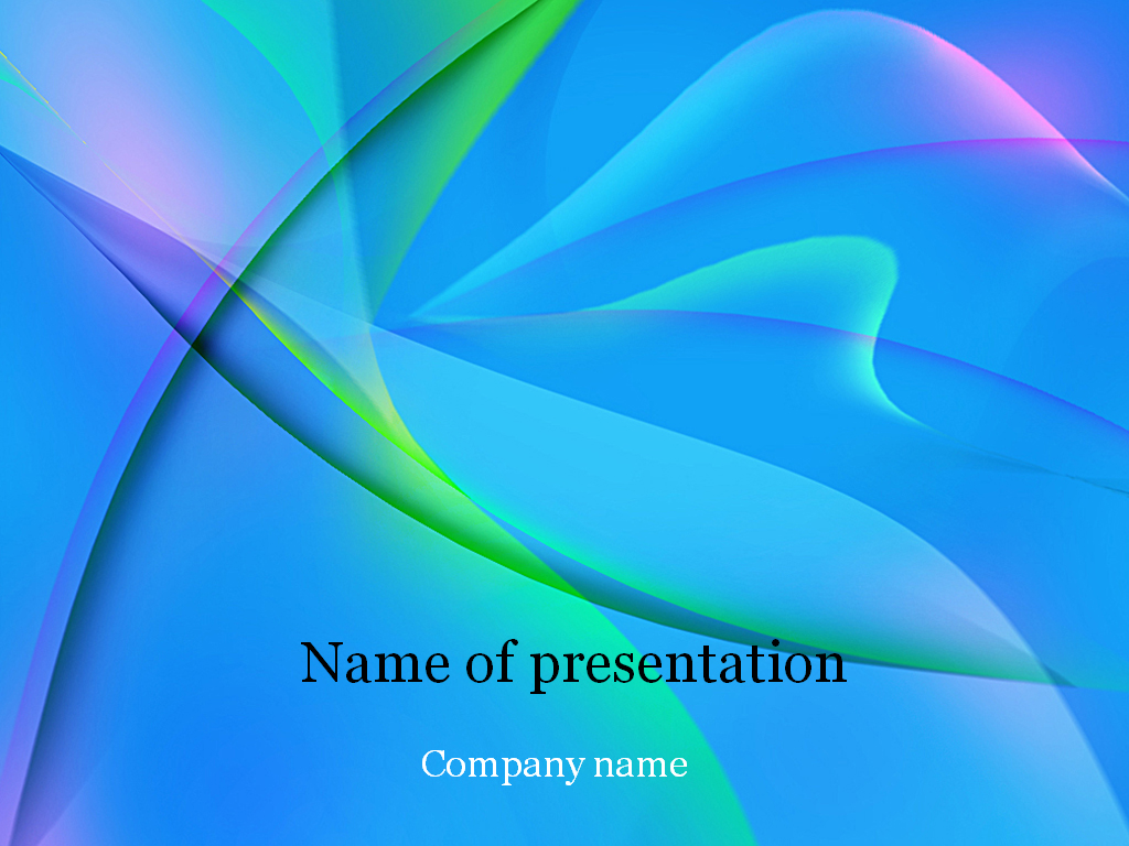 Download Free Blue Fantasy Powerpoint Template For