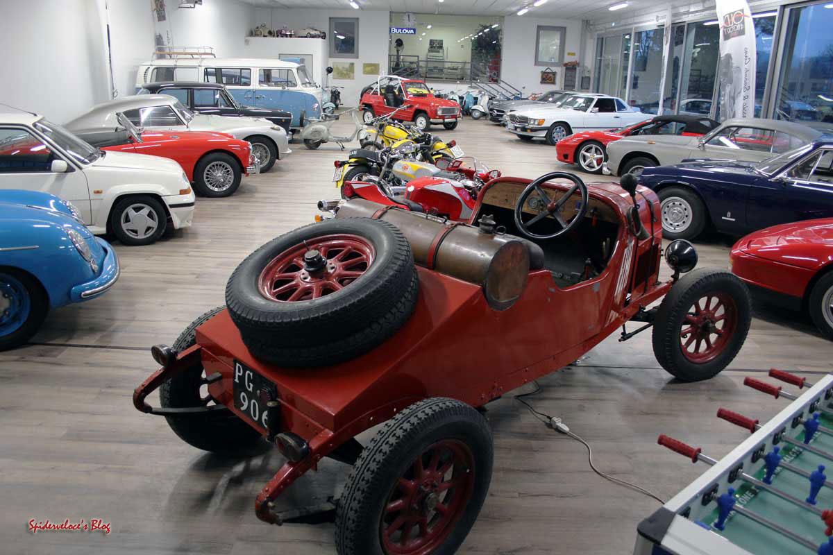 Old Factory Garage  Spiderveloces Blog