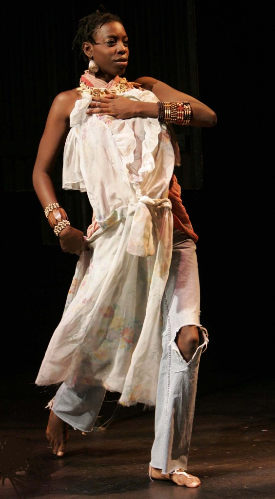 "Obsidian Theatre's production of ""Black Medea"" by Wesley Enoch Actor: Tiffany Martin Photographer: David Hou 2008"