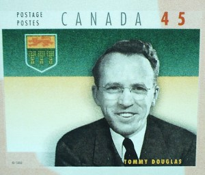 Tommy Douglas Stamp