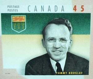 Tommy Douglas Stamp