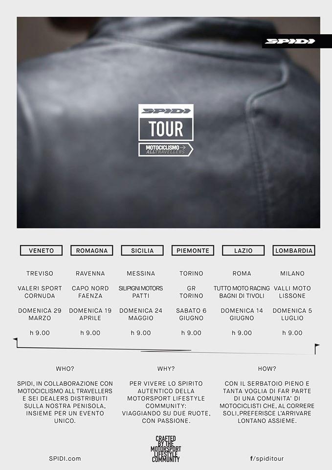 SPIDI TOUR CALENDAR