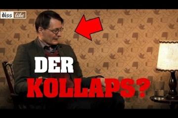 Lauterbach sackt während Show fast ohnmächtig zusammen; Bild: Startbild Youtubevideo