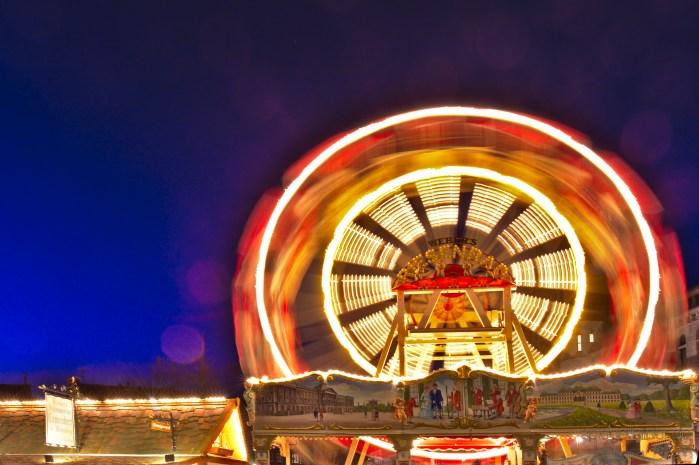 Riesenrad Braunschweiger Weihnachtsmarkt