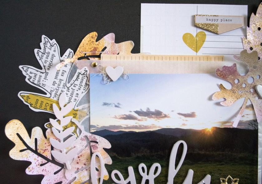 #SpiegelMomScraps #Shimmerz #paint #fallcolors #CratePaper #AmericaCrafts #mixedmedia #scrapbooking #papercrafting #DIY @SpiegelMomScraps @AmericanCrafts @ShimmerzPaints @Wordsandpaperscraps @Cratepaper