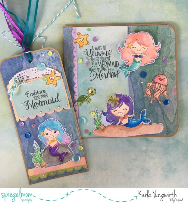 Creative Cards With Karla – Mermaid Fun!