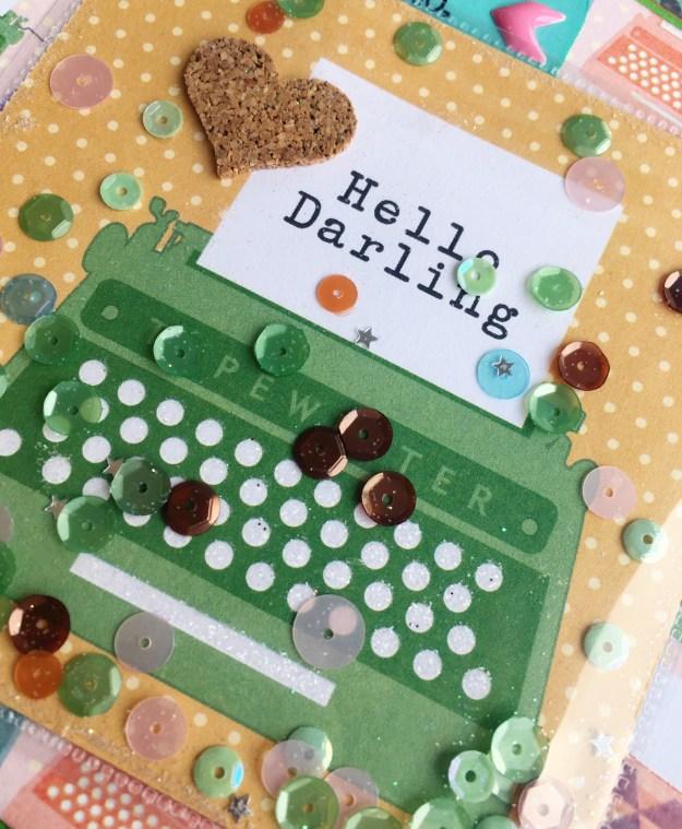 @spiegelmomscraps @jodyspiegelhoff @projectlife #fusetool #bookmark #card #giftset #stamping #ribbon #sequins #cork #spiegelmomscrap
