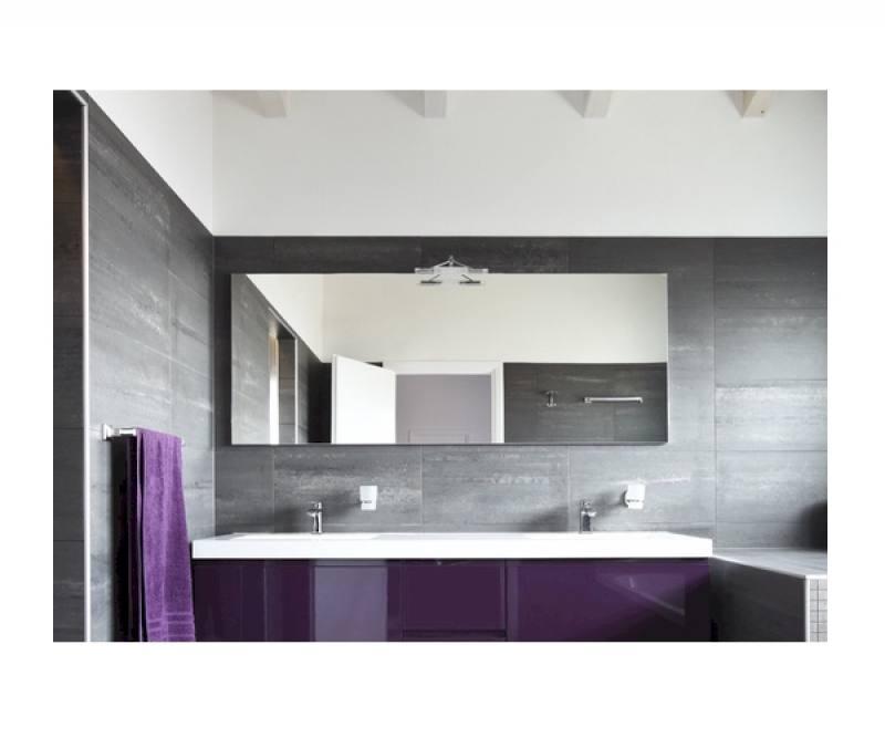 Badkamerspiegel Elegance 160 x 50 cm  op maat gemaakte