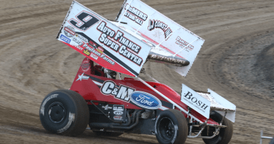 wade nygaard, nosa sprints, nosa sprint cars, river cities speedway