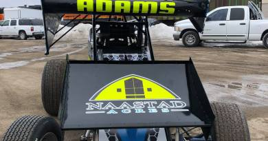 Jordan Adams, NOSA Sprints, sprint cars