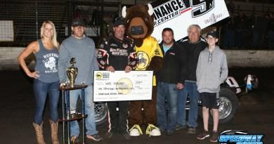 Wade Nygaard, NOSA Sprints, Buffalo River Race Park