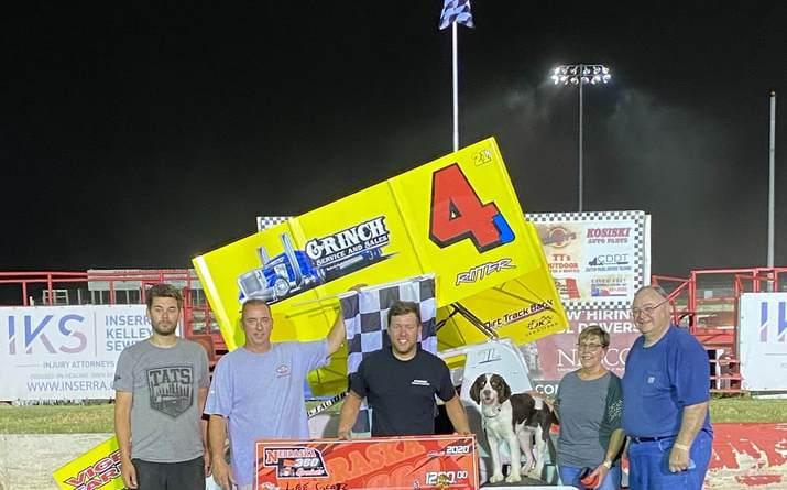 Lee Grosz, I-80 Speedway, Nebraska 360 Sprints