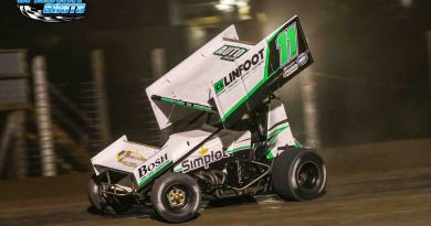 Brendan Mullen, River Cities Speedway, NOSA Sprints