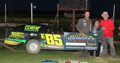 Jason Strand, Devils Lake Speedway, wissota midwest mods