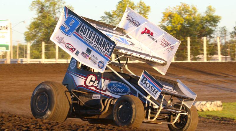 Wade Nygaard, River Cities Speedway, NOSA Sprints