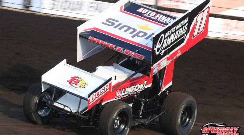 Brendan Mullen, Huset's Speedway, NOSA Sprints