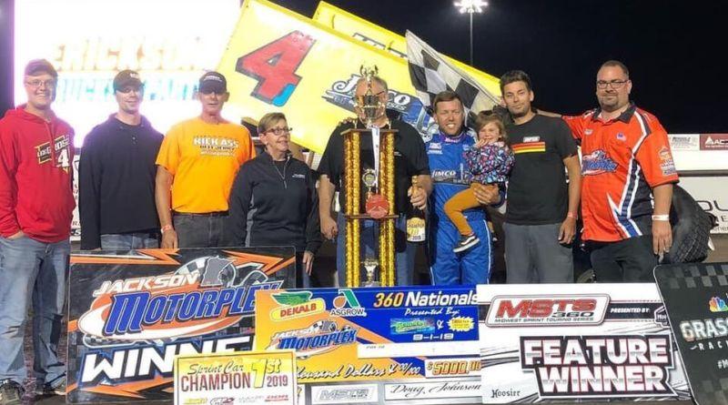 Lee Grosz, Jackson Motorplex, Jackson Nationals
