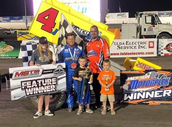 Lee Grosz, Jackson Motorplex, Knoxville Raceway, Red River Valley Speedway