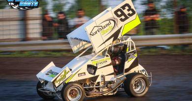 Kelsi Pederson, River Cities Speedway, Buffalo River Speedway, POWRi Minn-Kota Lightning Sprints