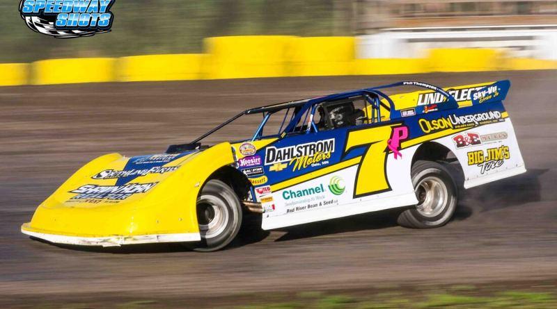 Joey Pederson; NLRA Late Models, Buffalo River Speedway, Greenbush Race Park