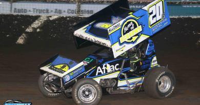 Jordan Adams, Jackson Motorplex, I-90 Speedway, Husets Speedway, NOSA Sprints