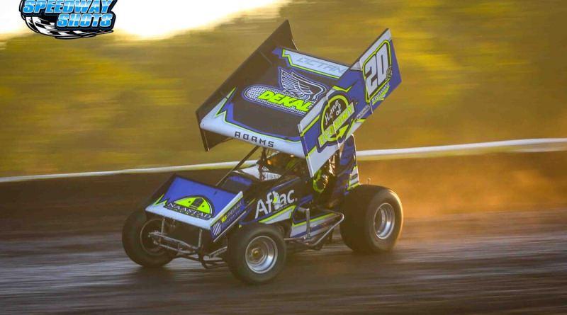 Jordan Adams, Norman County Raceway, River Cities Speedway, NOSA Sprints