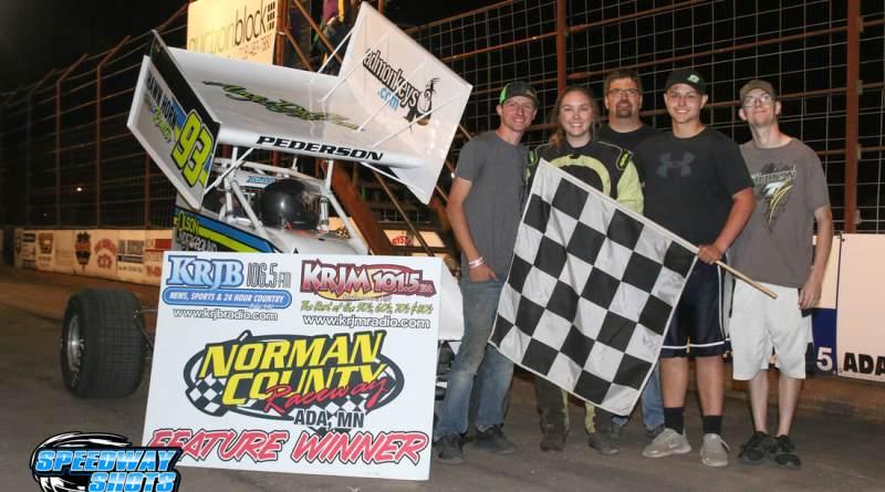 Kelsi Pederson, Norman County Raceway, NLSA Lightning Sprints