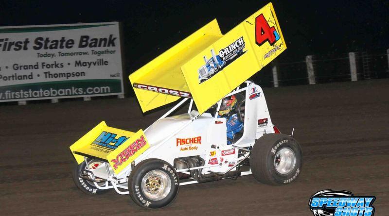 Lee Grosz, River Cities Speedway, NOSA Sprints