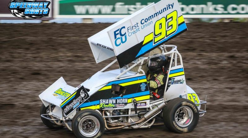 Kelsi Pederson, River Cities Speedway, NLSA Lightning Sprints