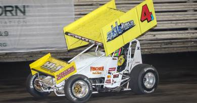 Lee Grosz, Jackson Motorplex, I-80 Speedway, Knoxville Raceway