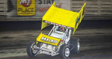 Lee Grosz, Knoxville Raceway, Knoxville 360 Nationals