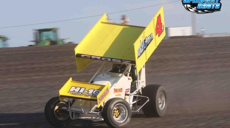 Lee Grosz, Knoxville Raceway, Knoxville 360 Nationals, Jackson Motorplex