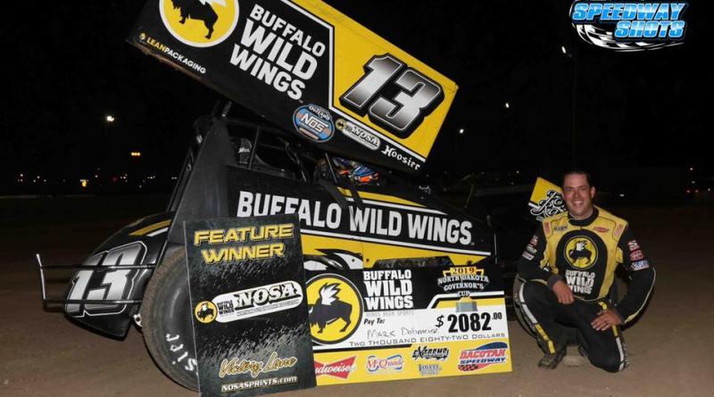 Mark Dobmeier, Dacotah Speedway, NOSA Sprints