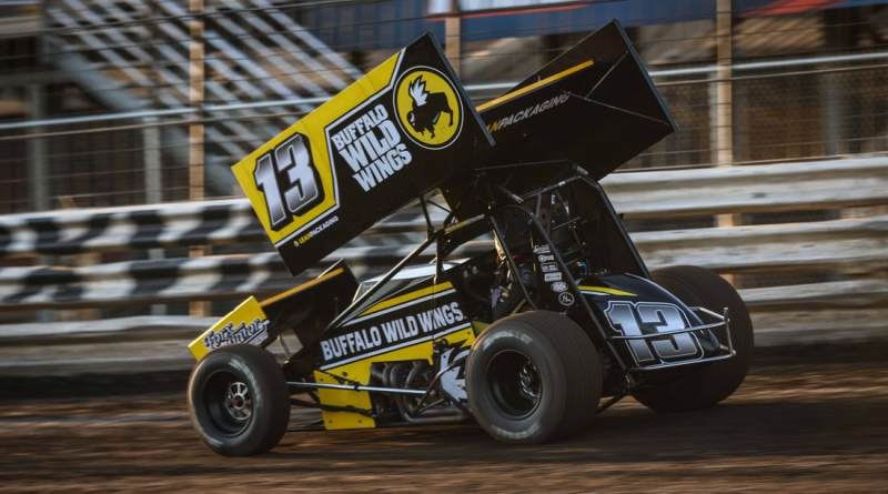 Mark Dobmeier, Knoxville Raceway, World Of Outlaws Sprint Cars