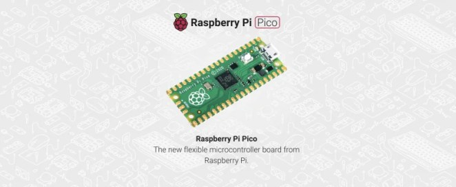 Screenshot of our Getting Started with Raspberry Pi Pico landing page