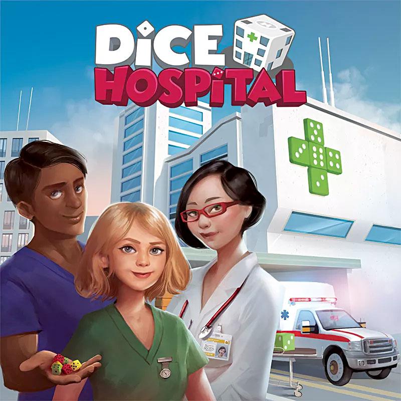 Dice Hospital Schachtelvorderseite