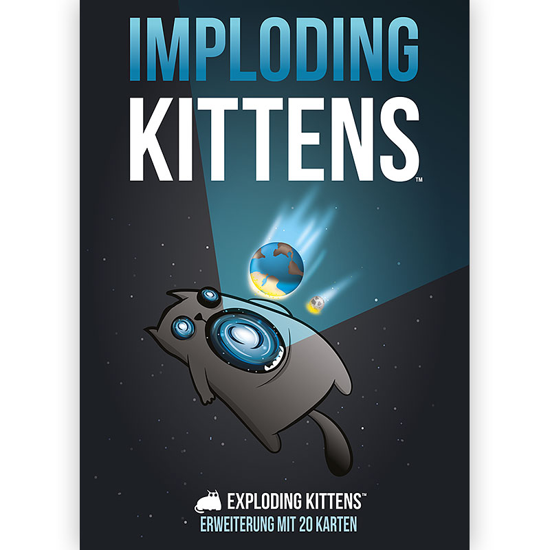 Cover zu Imploding Kittens