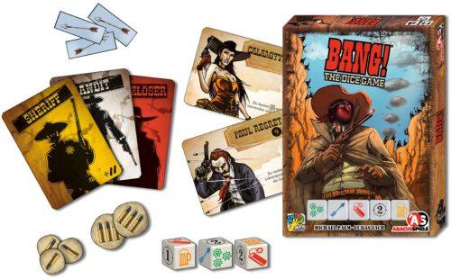 Würfelspiel Bang - The Dice Game: Spielmaterial