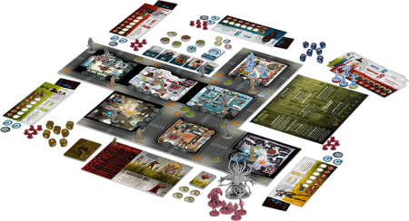 Brettspiel The Others: 7 Sins