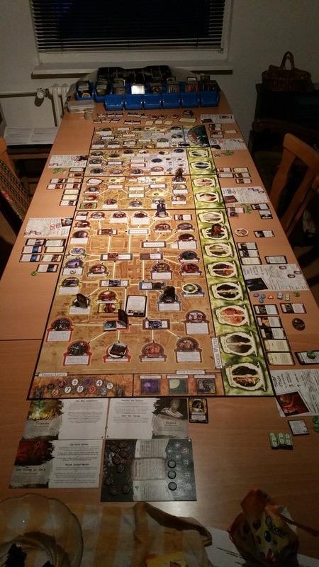 Spieleabend Arkham Horror