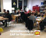 Spieledienstag im ZAP - Dezember