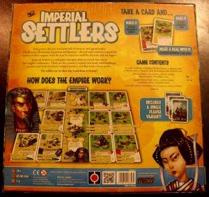 Imperial Settlers Rück