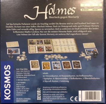 Holmes back