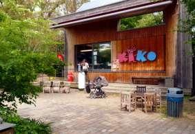 Kiko Kiosk im Palmengarten