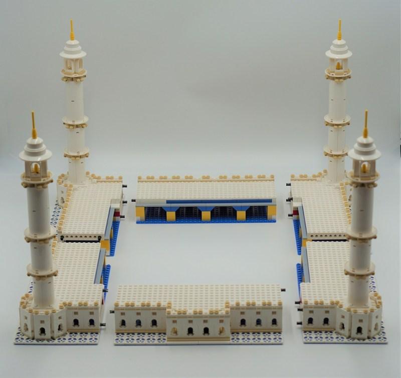 Taj Mahal Unterbau (Zerlegt)