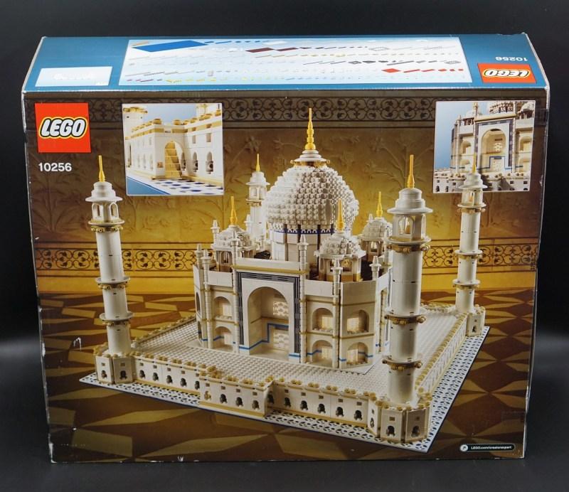 Taj Mahal Verpackung Back