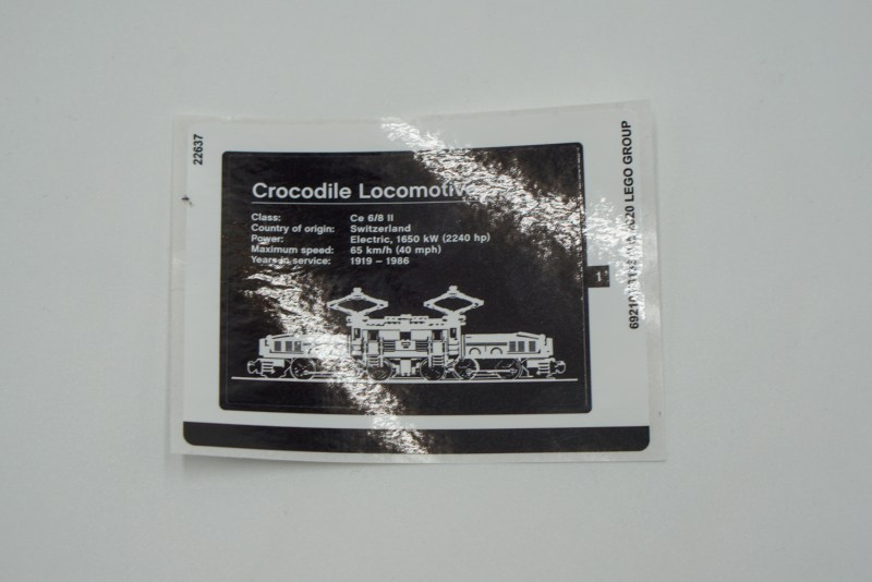Crocodile Sticker