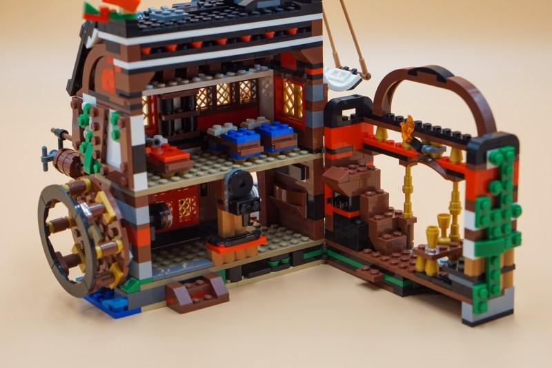 Piratenschiff Mühle 3