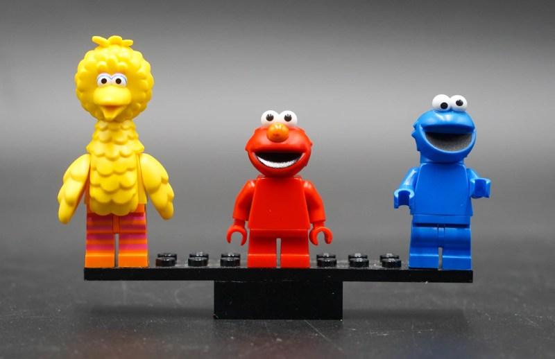 Sesamstraße Figuren 1 Front