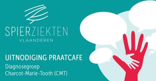 tribe-loading Praatcafé diagnosegroep Charcot-Marie-Tooth (CMT), regio Oost-Vlaanderen